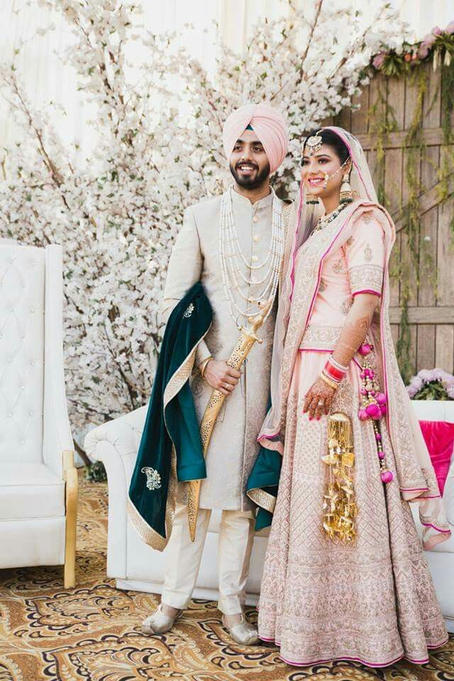 Shikachand With Images Royal Wedding Dress Punjabi Wedding