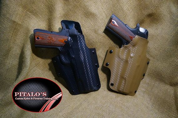 For 1911's: Right Handed OWB Kydex Holster | Holsters