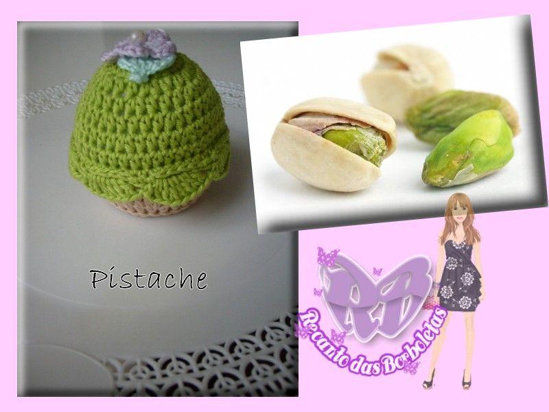 Cupcake de Crochê