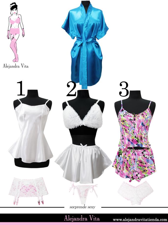 9dbf2f2b82 Alejandra  Vita  Lookbook  BRIDE -  Novia www.alejandravitatienda.com  Look   Lingerie  Lenceria  Babydoll  Negligee  SilkKimono  blue  brassiere  bra  ...