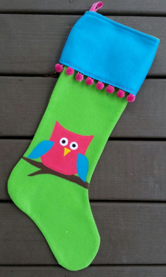 Personalized Handmade Felt Christmas by NotYourOldSocks on Etsy