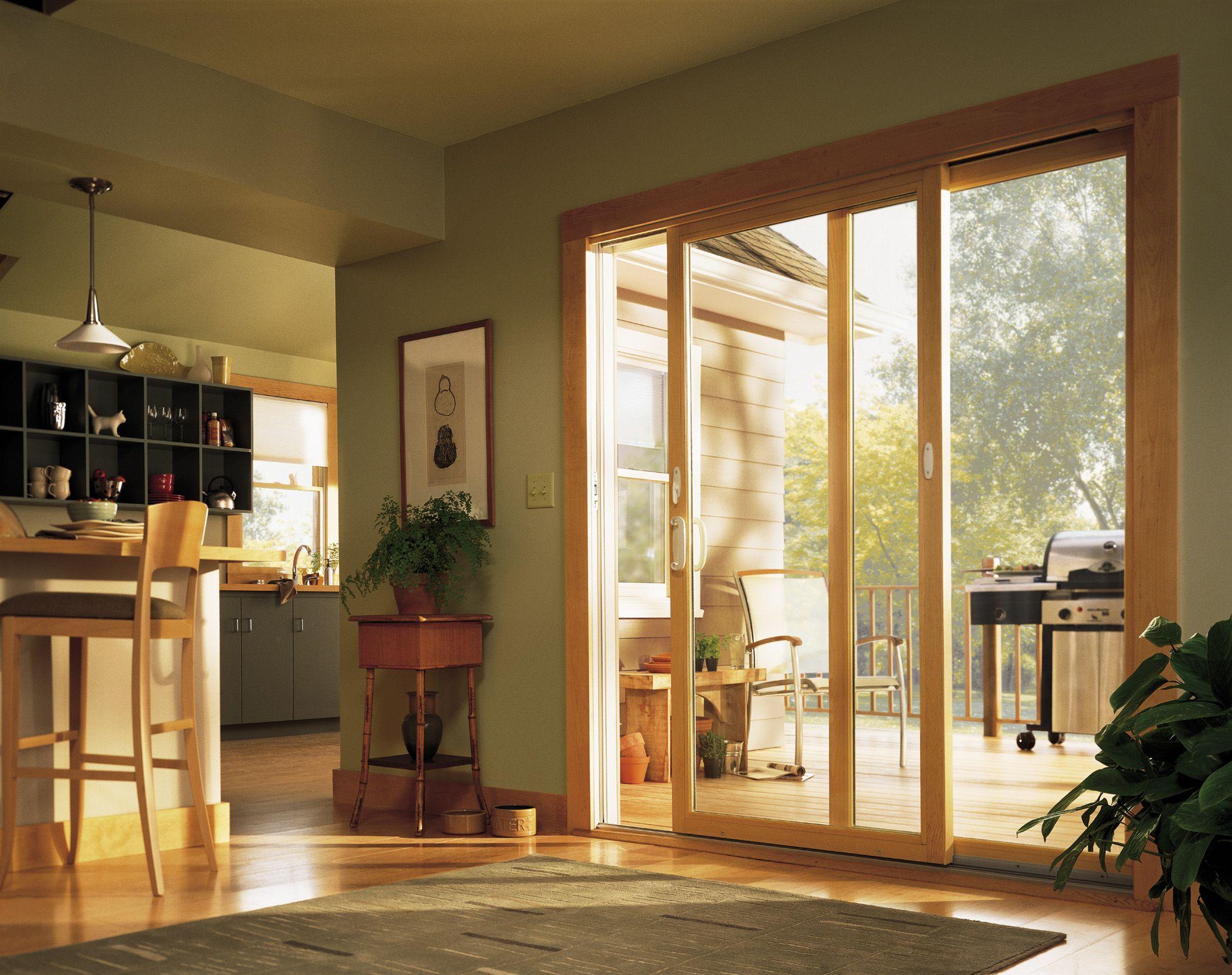 Andersen 200 Series Sliding Patio Door Deck