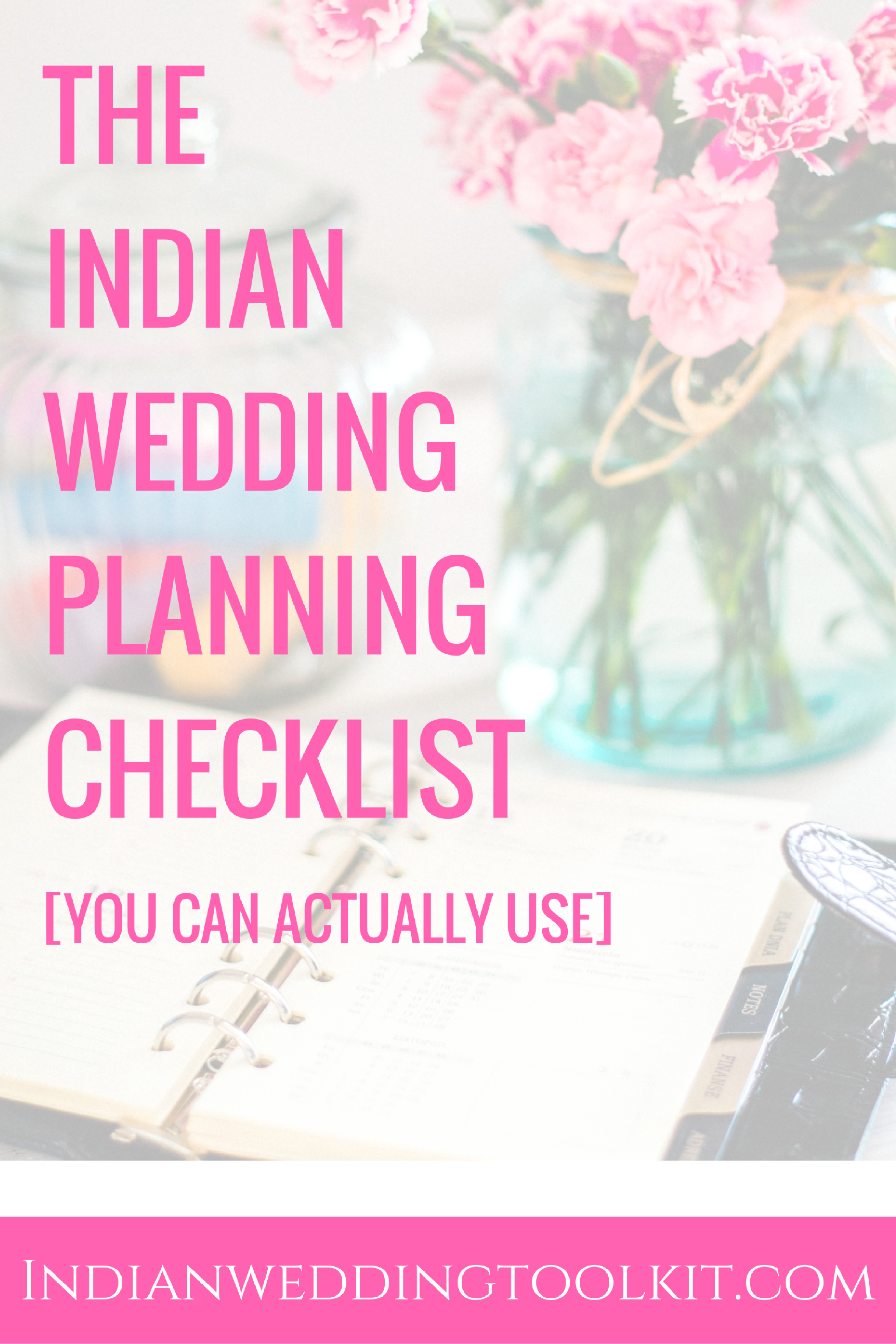 Use This Wedding Planning Checklist For Any Kind Of Indian