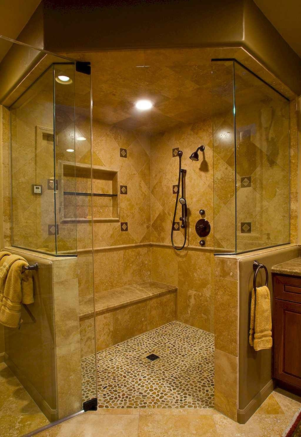 45 Streamlined Small Bathroom Shower Remodel Ideas