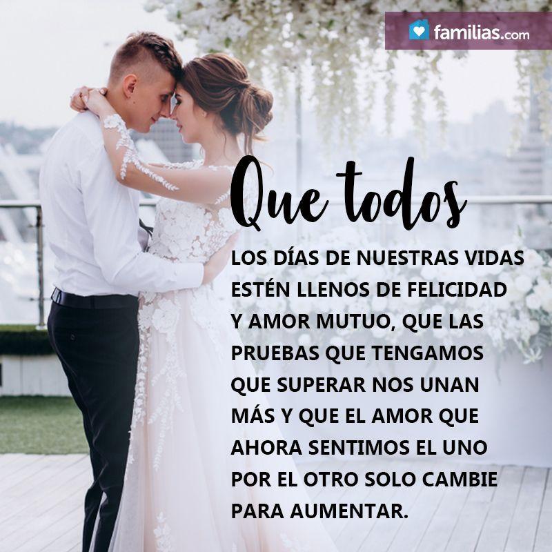 Que Todos Los Días El Amor Crezca Un Poco Más Felicitaciones De Matrimonio Frases De Boda Mensaje De Aniversario De Matrimonio