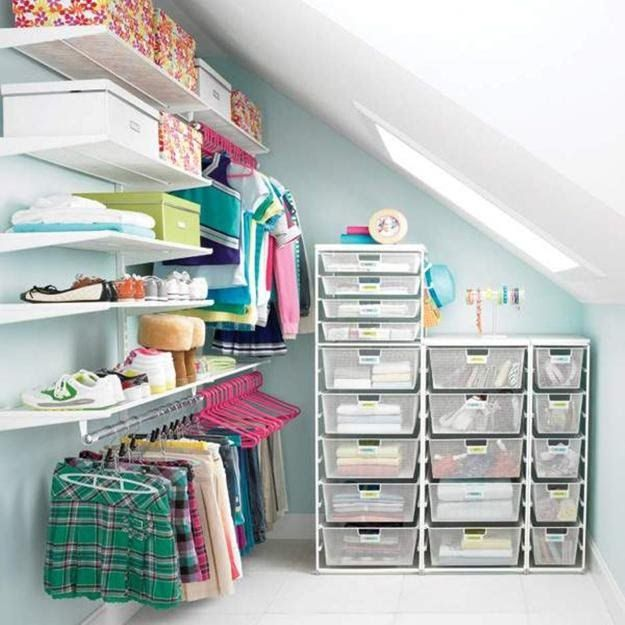 Merveilleux 30 Smart Storage Ideas To Improve Closet Organization And Maximize Small  Spaces U2013 Lushome