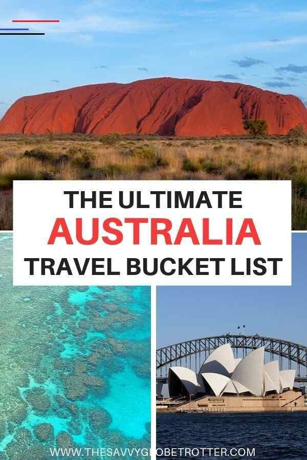 The Ultimate Australia Bucket List: BEST Places to Visit - #traveldestinations - Planning a trip to Australia and not sure where to start? I've got you covered with this epic Australian Travel Bucket List containing 50+ of the best places to visit and things to do....