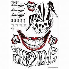 Resultat De Recherche D Images Pour Dessin Joker Tatouage Suicide