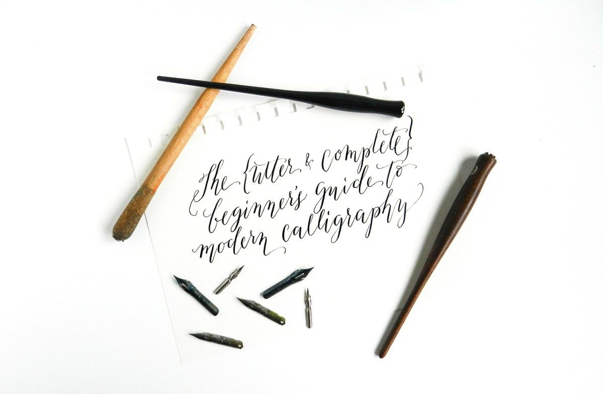 The beginners guide to modern calligraphy modern calligraphy
