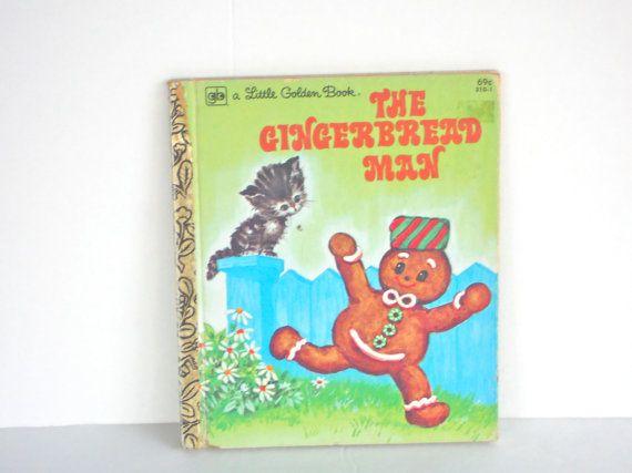 Little Golden Book The Gingerbread Man Good by PrettyParisian, $5.00