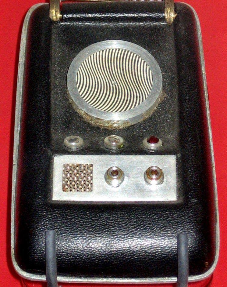 Star Trek Original Series Communicator at the Science