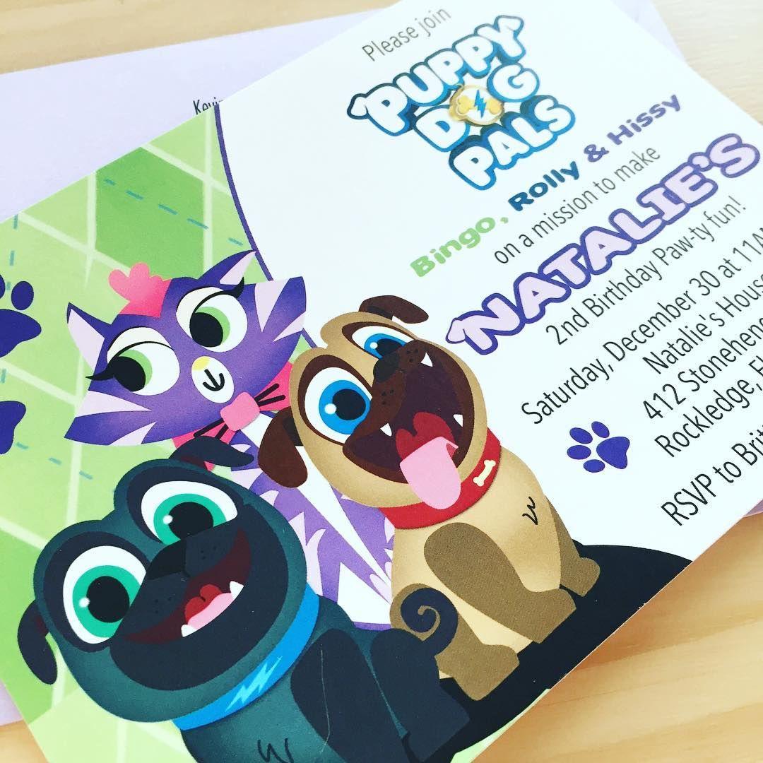 Puppy Dog Pals Birthday Invitations 2nd Birthday Boys Paw Patrol Birthday Invitations Birthday Invitations