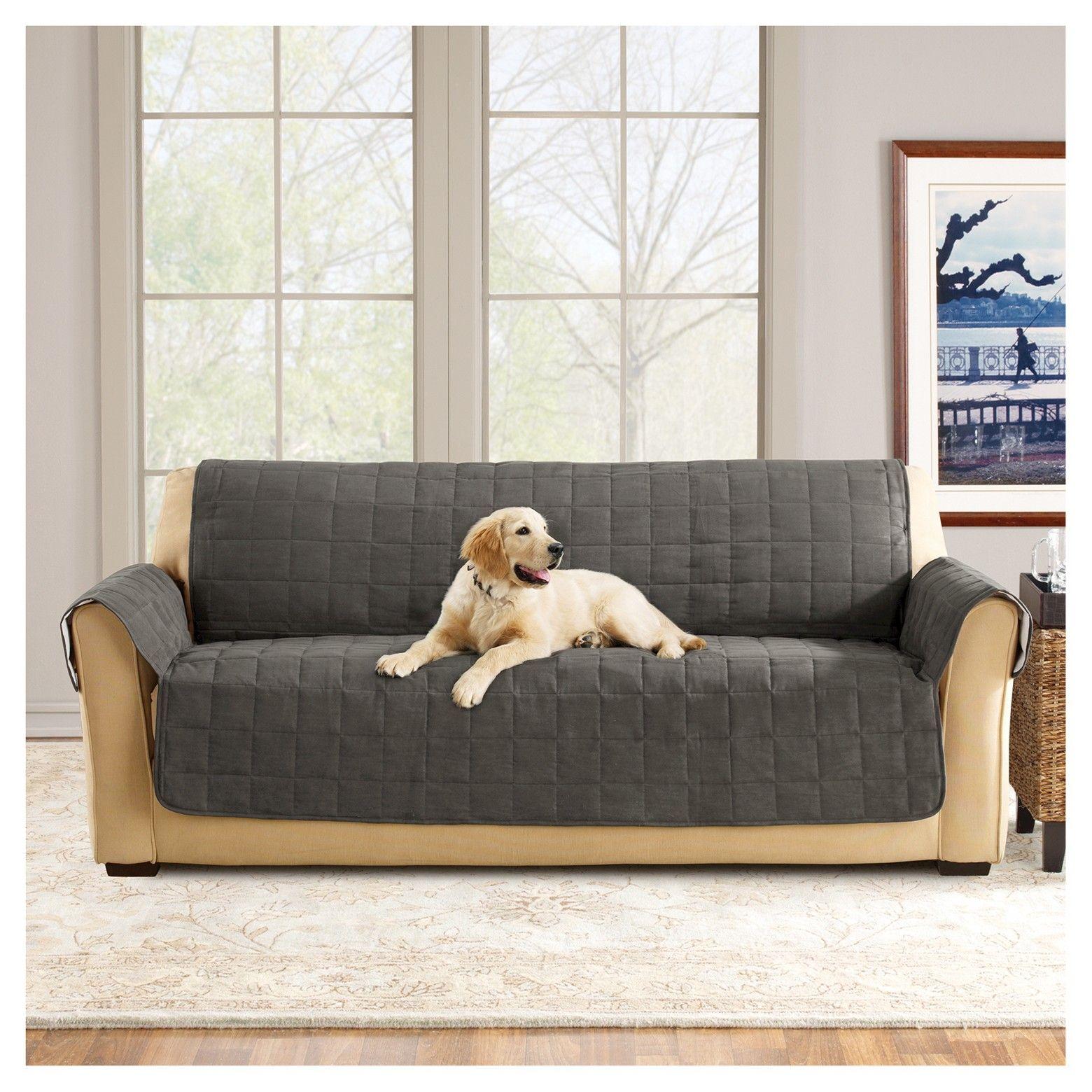 The Sure Fit Ultimate Waterproof Suede Sofa Furniture