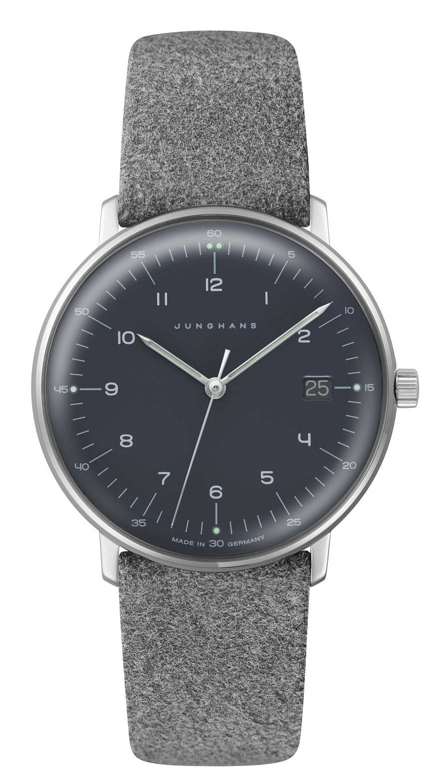 5b67aeceb74 Max Bill by Junghans released this women s edition adorned in felt
