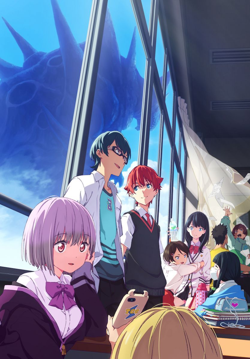 SSSS.Gridman Anime Visual | Anime, Anime dubbed, Anime expo