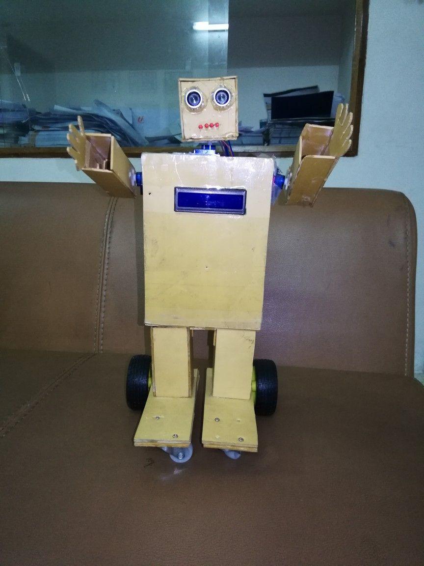 Arduino based homemade robot homemade robot humanoid