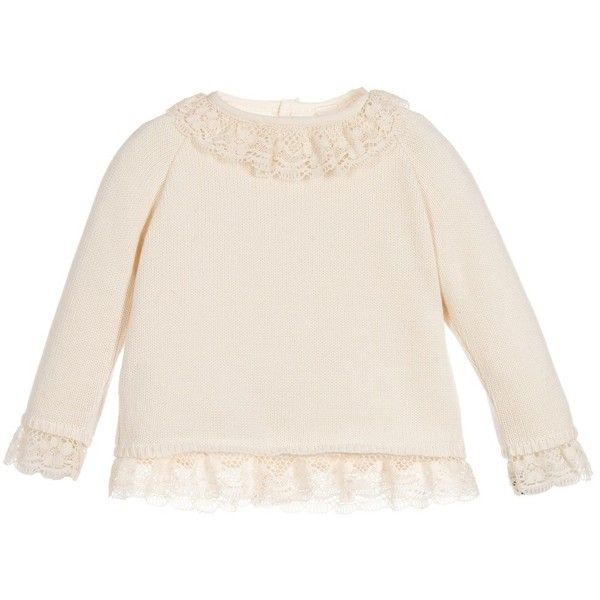 Naturapura Baby Girls Knitted Organic Cotton Sweater found on Polyvore