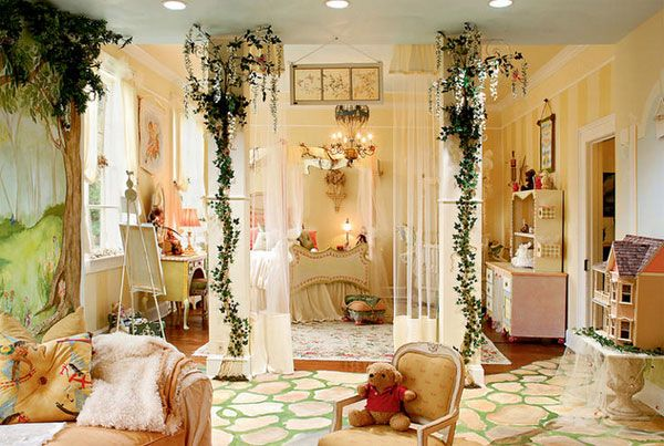 Princess Room Pictures Fairy Tale Princess Bedroom Decoration For