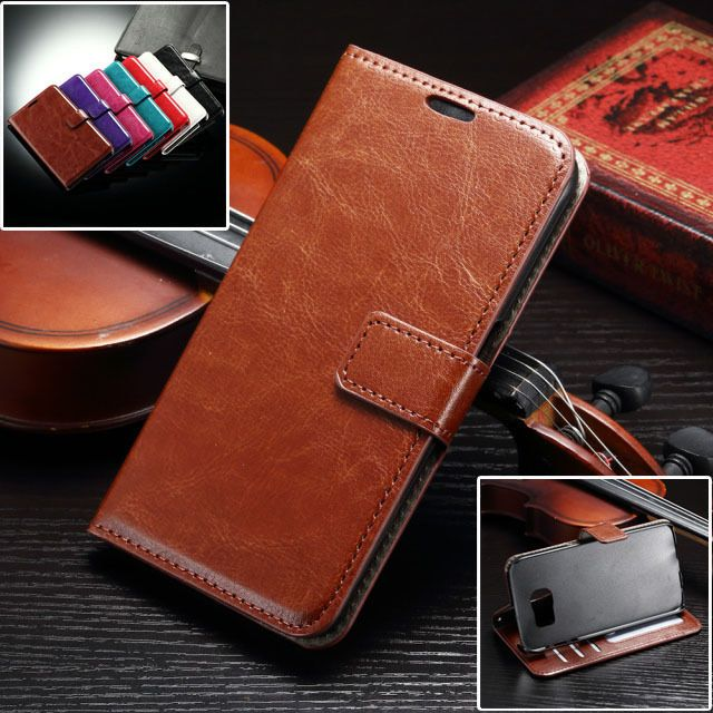 new concept 66376 785cc $6.11 - For Samsung Galaxy S7 Edge, Luxury Leather Wallet Flip ...