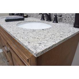Us Marble Copenhagen Quartz Undermount Bathroom Vanity Top Common 61 In X 22 Actual 25 At Lowes