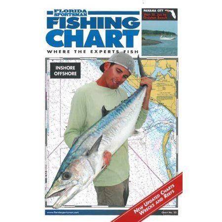 Folsom Of Florida Fl Sports Fishing Chart-panama City