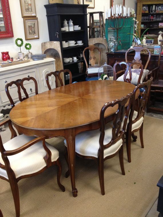 French Provincial Dining Table$45000 Via Etsycome And See Us Pleasing French Provincial Dining Room Table 2018