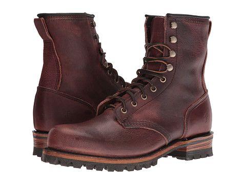 Frye Logger Black Smooth Full Grain 6pm Com Shoes