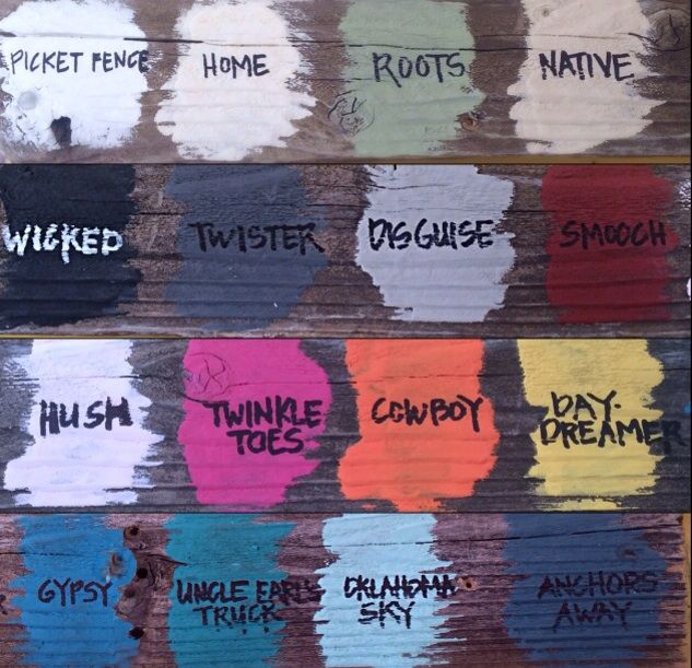 Yellow Tree LLC's Chalk Style Paint. Chalk paint has become very popular because there is NO prep work or priming on most surfaces. #scottsmarketplace