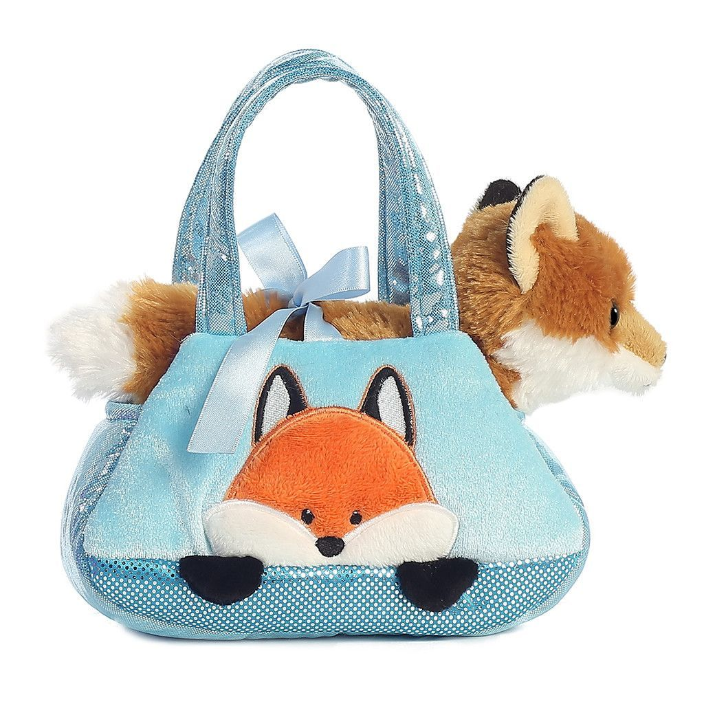 Aurora Fancy Pals 7 Fox Plush Toy Fox Plush Pet Carriers