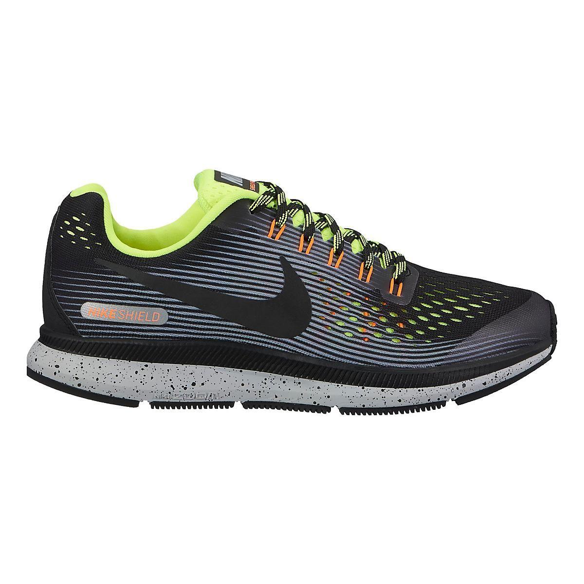 df2fe32a295 Kids Nike Air Zoom Pegasus 34 Shield Running Shoe