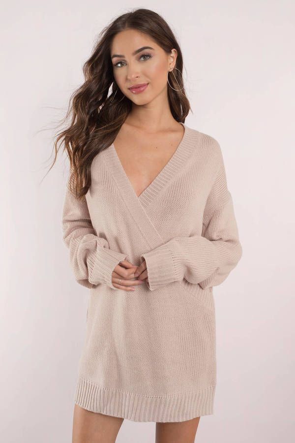 Fall in love with the Winter Romance Oversized Sweater Dress ...