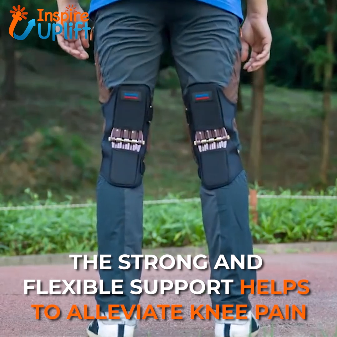 The new, Power Knee Stabilizer Pads support your thighs and calves