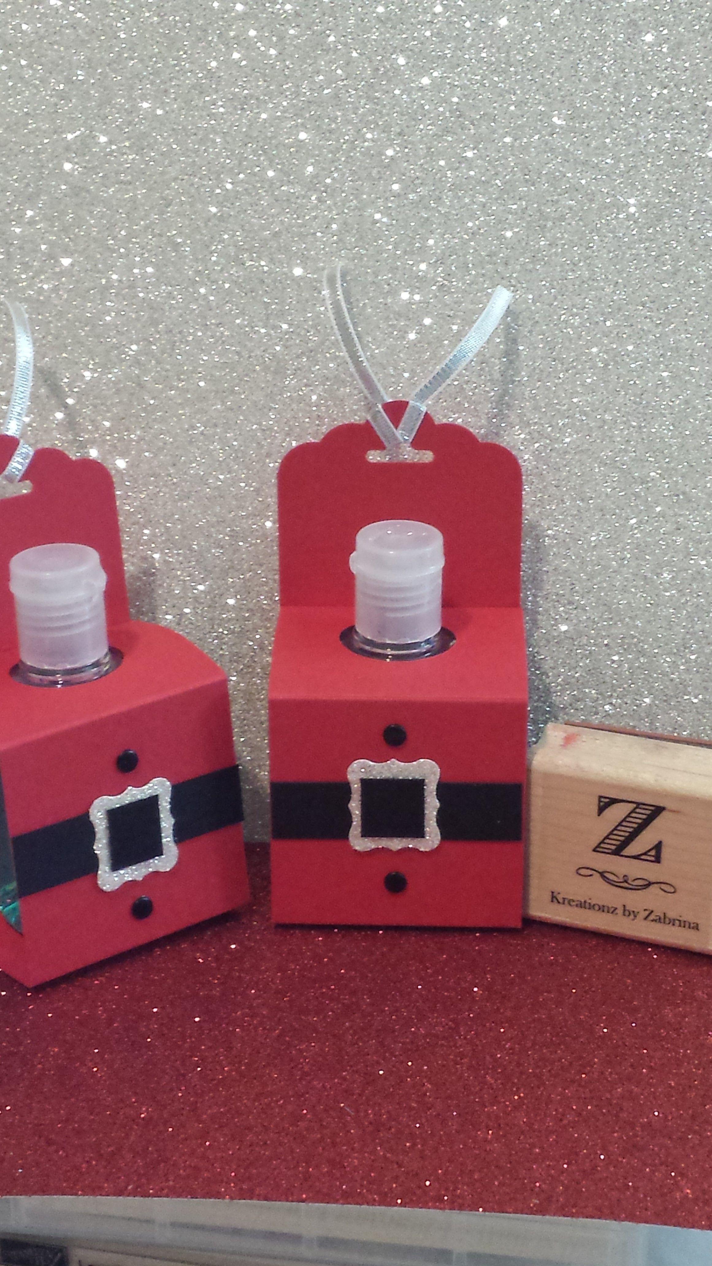 Santa Tizer Hand Sanitizer Covers Www Kreationzbyzabrina Com