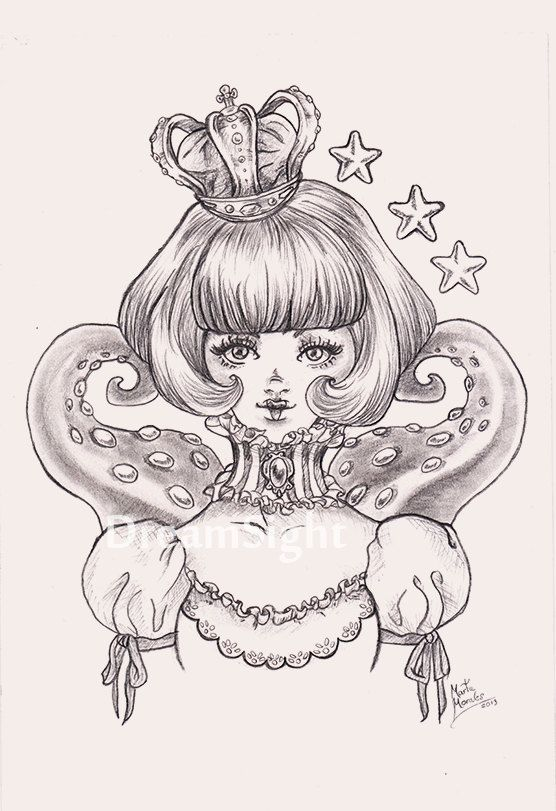 Kyary Pamyu Pamyu  Original Drawing. by DreamSight on Etsy, €10.00