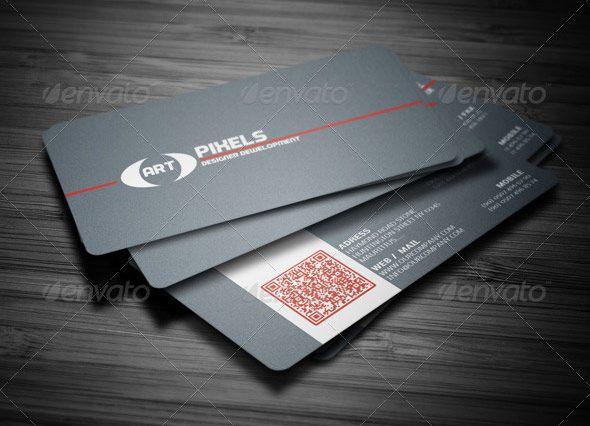 25 qr code business card templates card templates qr codes and 25 qr code business card templates wajeb Choice Image