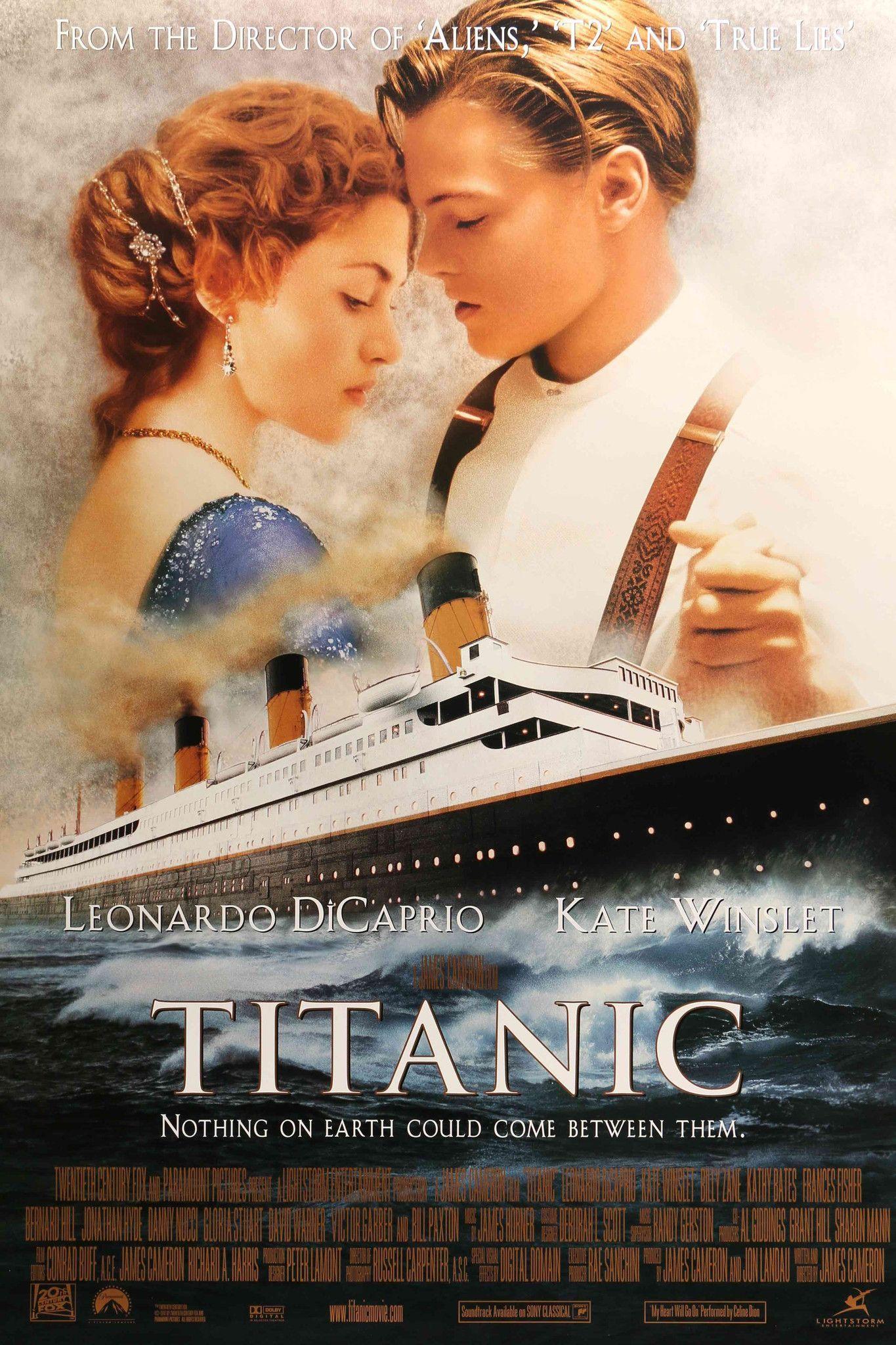 Titanic 1997 Titanic Movie Titanic Movie Poster Romantic Films
