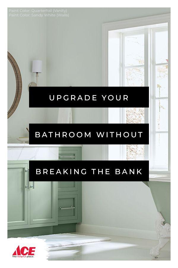 Make a splash with serene, spa- like bathroom paint colors ...