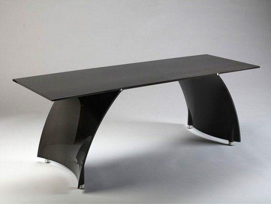 Ava Carbon Fiber Coffee Table Coffee Table Carbon Fiber