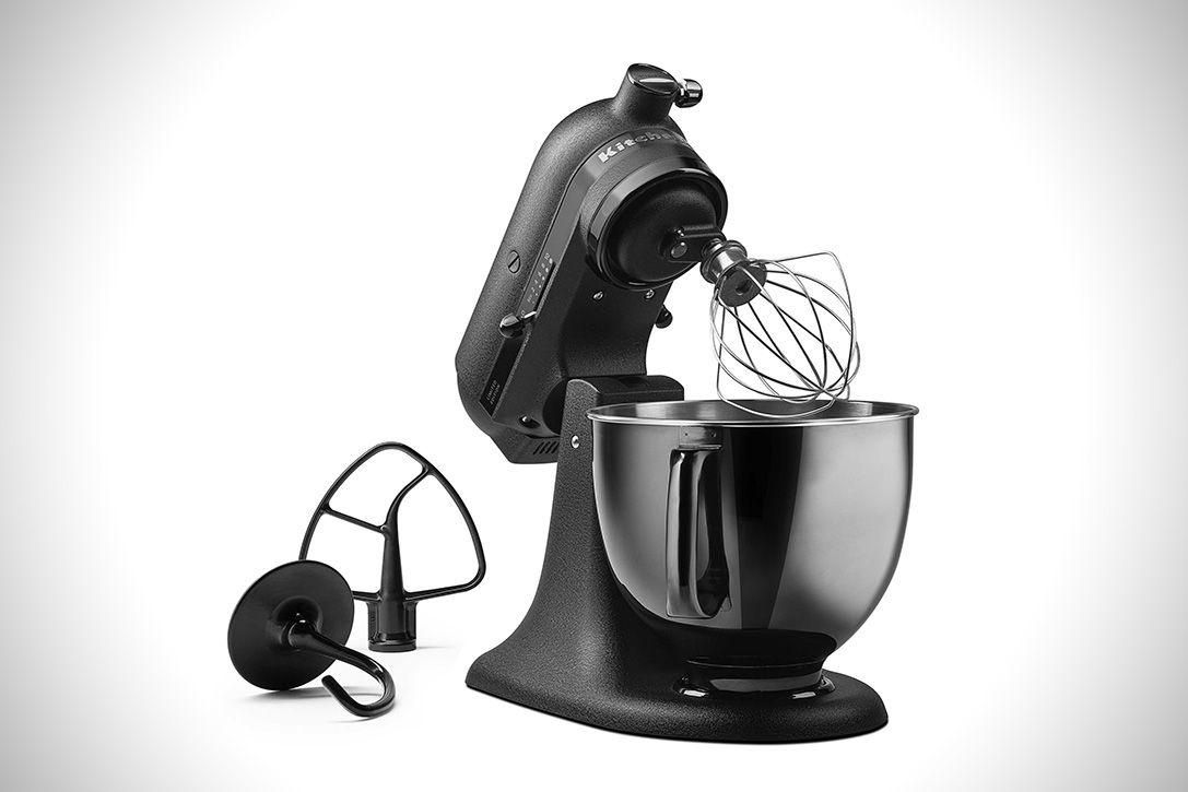 KitchenAid Artisan Black Tie Mixer | HiConsumption