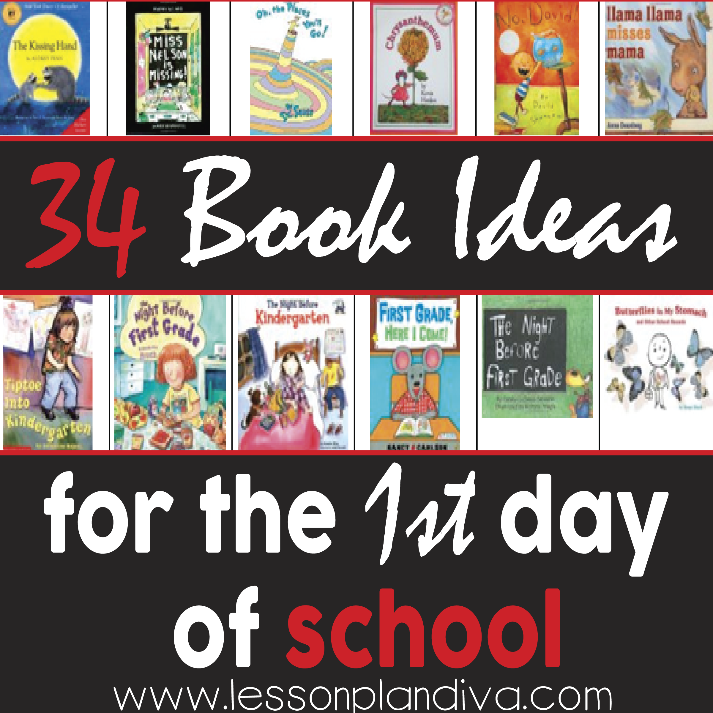 Books To Read On The First Day Of School