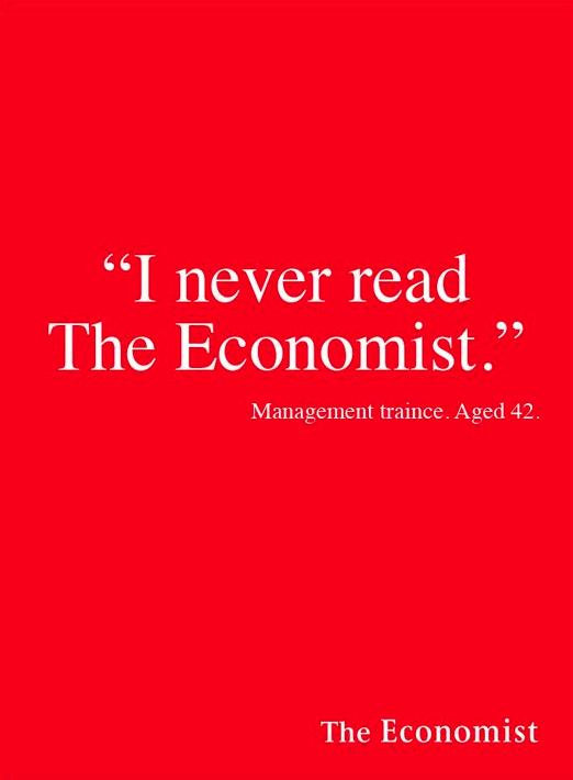 The Economist #Advertising #Campaign | Slogan | Logos