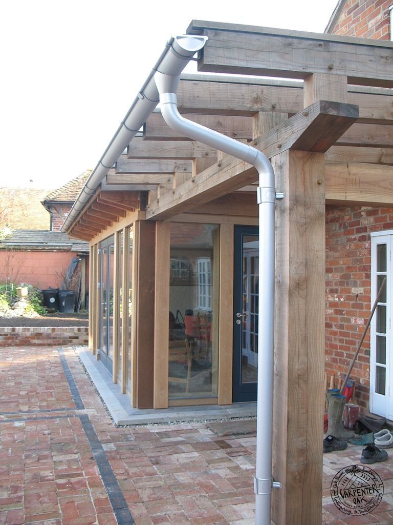 Flat roof extension with lantern google search flat for Cottage kitchen extensions