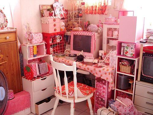 Image result for kawaii desk   kawaii room ideas:)   Pinterest ...