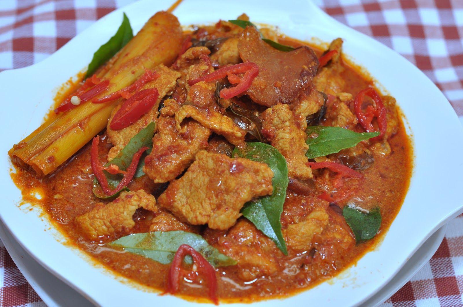 Veronica S Kitchen Assam Curry Pork 亚叁咖哩猪肉片 Pork