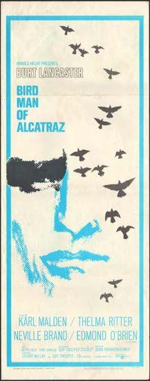 Birdman Of Alcatraz Original Movie Poster Movie Posters Vintage