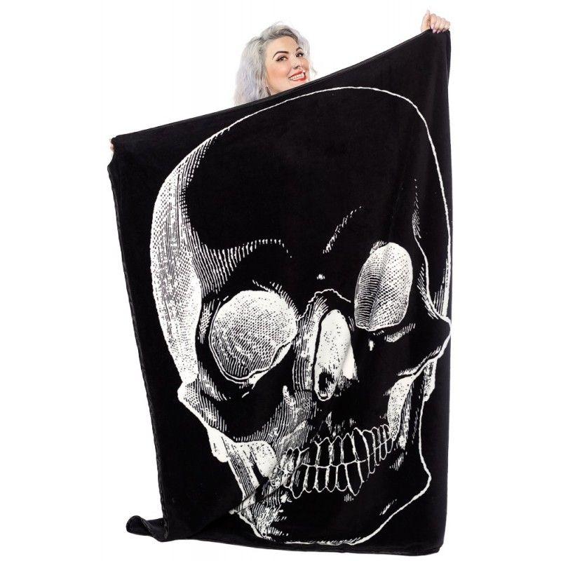 Sourpuss - Skull Blanket