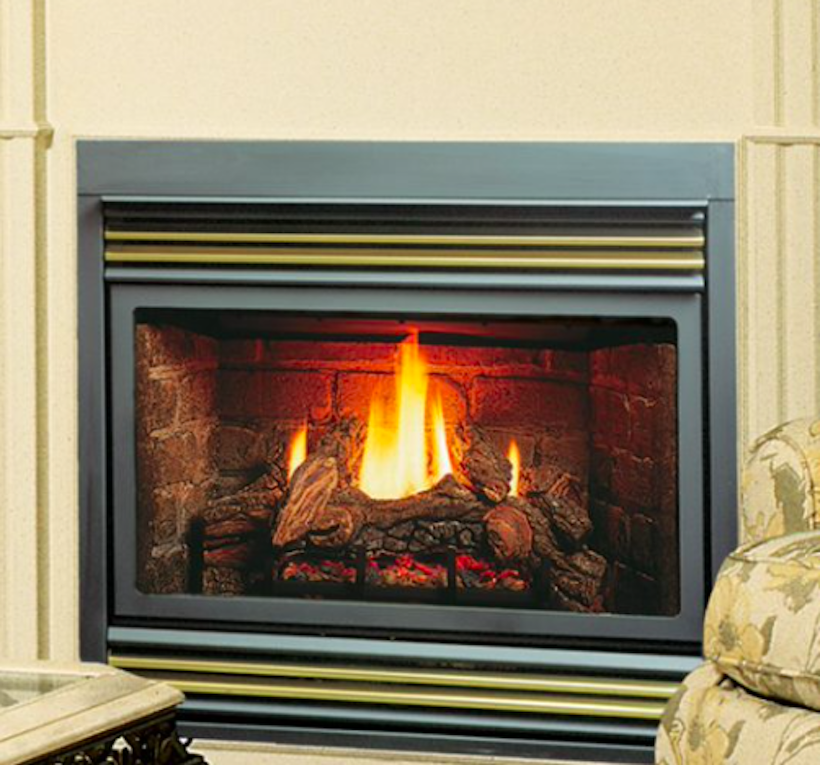 Details About Kingsman Zv3600 Zero Clearance Lp Fireplace W Dual