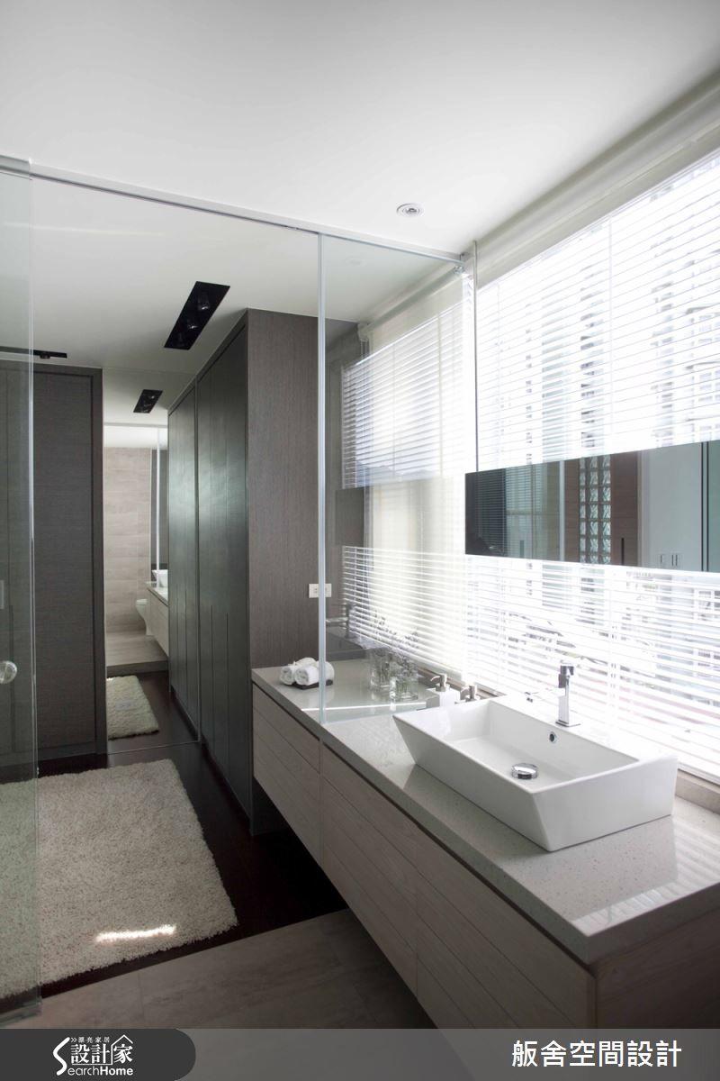 舨舍空間設計有限公司 簡約風設計圖片舨舍 12之12 Bathroom Mirror