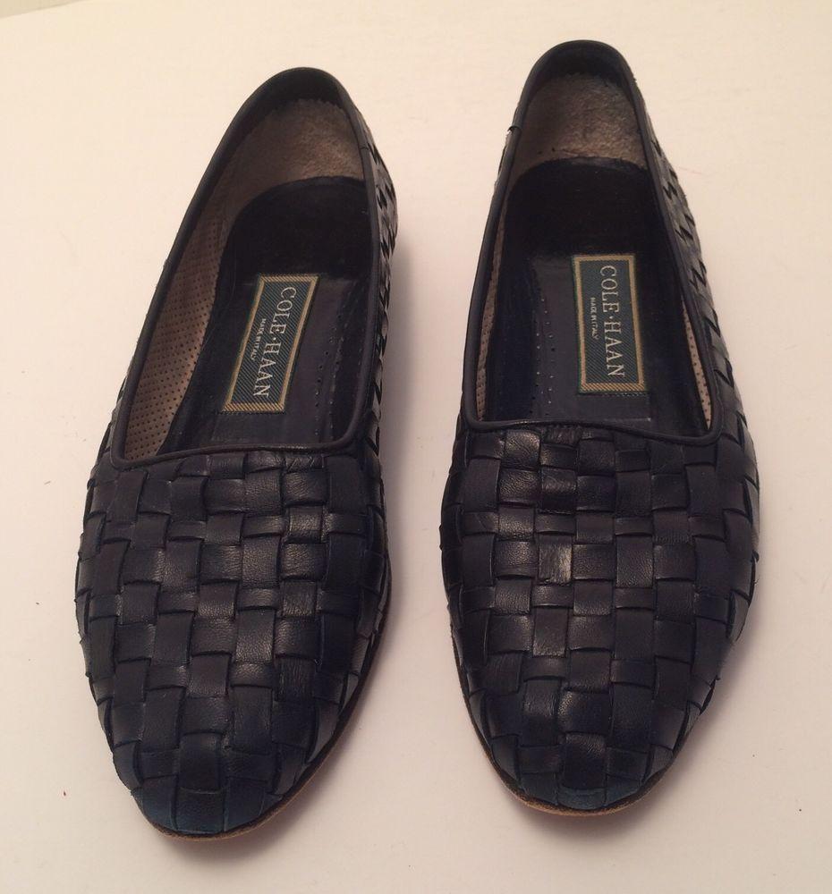 Womens Casual Slingback Oxford Shoe Navy