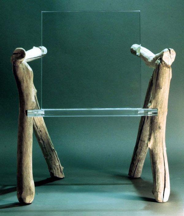 Patio Furniture Glens Falls Ny: Light, Organic Furniture Piece: Bare Bones Ghost Chair